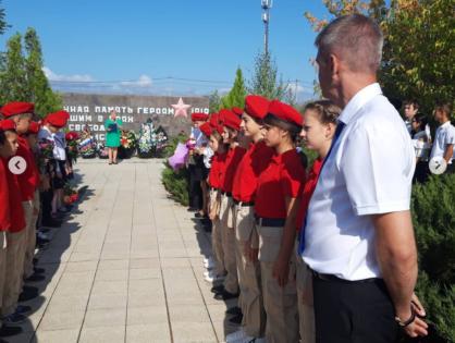 Митинг памяти жертв в г. Беслан