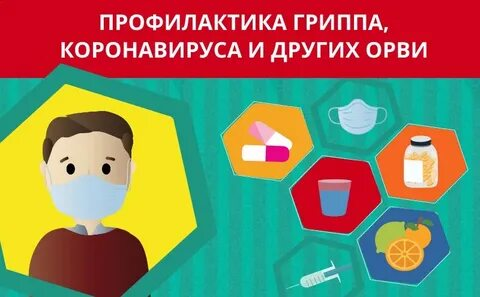 """Памятка """"Профилактика гриппа и коронавирусной инфекции"""""""